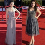 Aimee Garcia Ariel Winter gray dresses 2012 SAG AWards