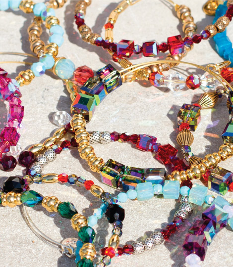 Alex and Ani gipsy bracelets