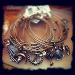 Alex and Ani stackable charms bangles