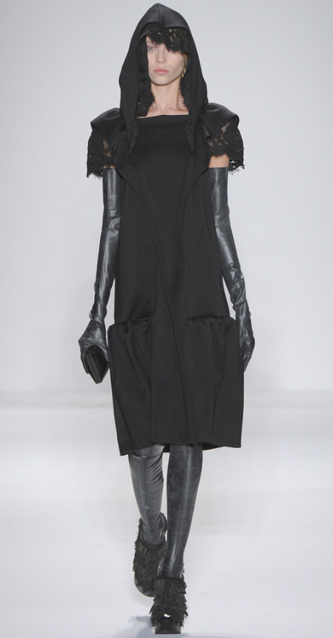 Alexander Herchocovitch Fall Winter 2011 2012 collection