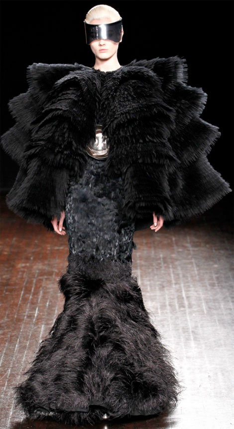 Alexander McQueen Fall Winter 2012 2013 last look