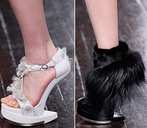 Alexander McQueen fall 2012 shoes - StyleFrizz | Photo Gallery