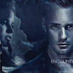 Alexander Skarsgard Lara Stone Calvin Klein Encounter perfume ad campaign