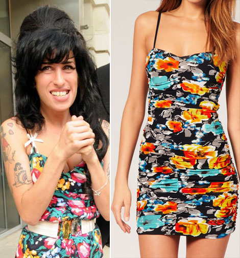 Amy Winehouse dress for sale