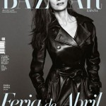 Angela Molina covers Harpers Bazaar