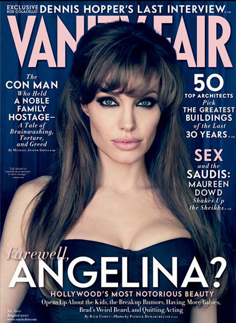 Angelina Jolie's Vanity Fair August 2010