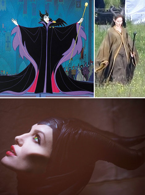 Angelina Jolie as Maleficent Sleeping Beauty sorceress