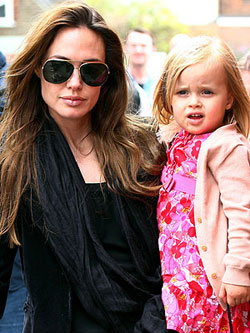 Angelina Jolie daughter Vivienne Disney s Maleficent