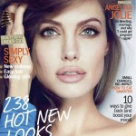 Angelina Jolie stunning cover Marie Claire January 2012
