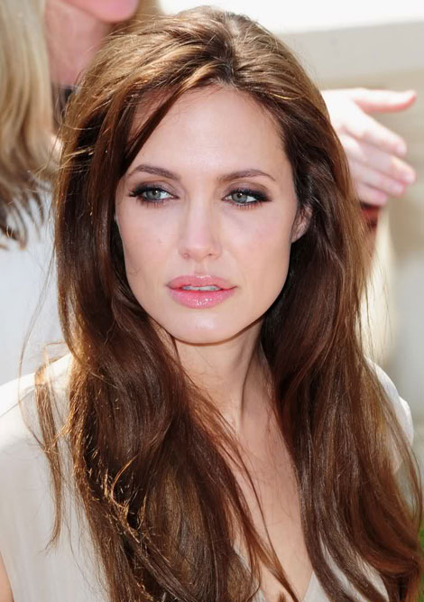 Angelina Jolie unusual gorgeous picture Cannes