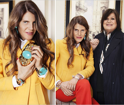 Anna Dello Russo H & M Accessories Collection