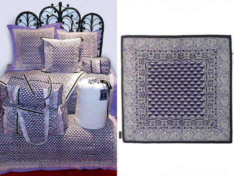 Anna Sui Home Collection bedding