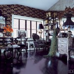 Anna Sui s home living room