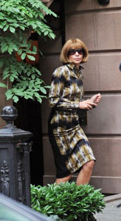 Anna Wintour Visiting Sarah Jessica Parker For Obama Fundraiser Party