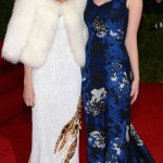 Anna Wintour with daughter Bee Shaffer Met Gala 2012