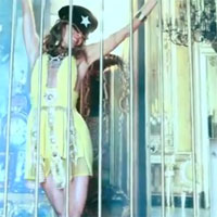 Cage Dancing. Anna Dello Russo On The Edge Of Glory