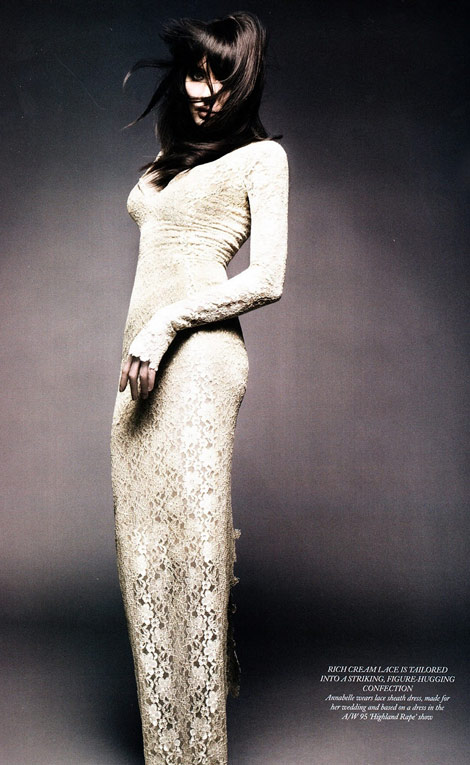 Annabelle Neilson Harpers Bazaar UK May 2011