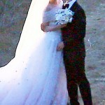 Anne Hathaway s white wedding dress Valentino