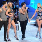 Anne Vyalitsyna Victoria s Secret 2011 Fashion Show with Adam Levine