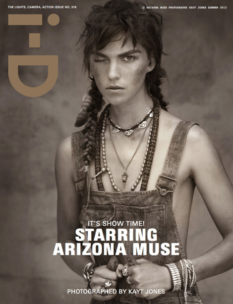 Arizona Muse i D Magazine Summer 2012 cover