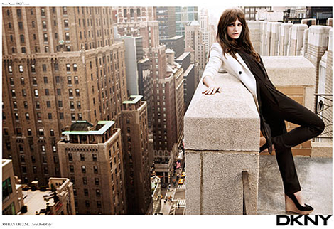 Ashley Greene DKNY Spring Summer 2012 ad campaign