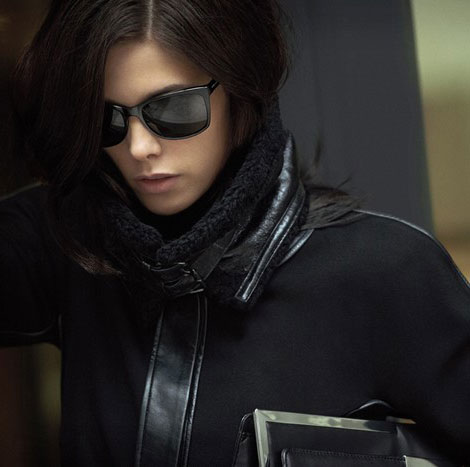 Ashley Greene DKNY fall 2012 campaign