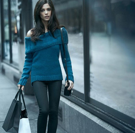 Ashley Greene DKNY fall 2012