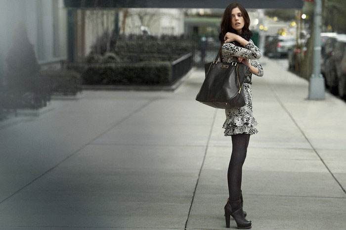 Ashley Greene DKNY fall winter 2012 ad campaign