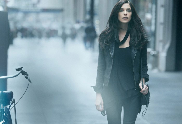 Ashley Greene Donna Karan DKNY fall 2012 ad campaign