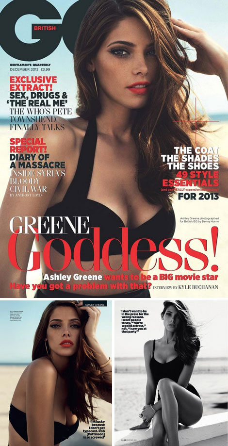 Ashley Greene provocative photos GQ magazine