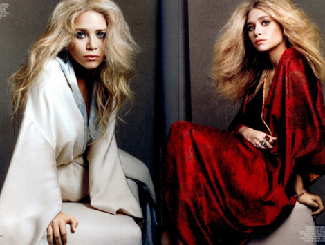 Ashley Mary Kate Olsen Vogue picture