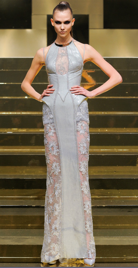 Atelier Versace Spring 2012 couture Karlie Kloss