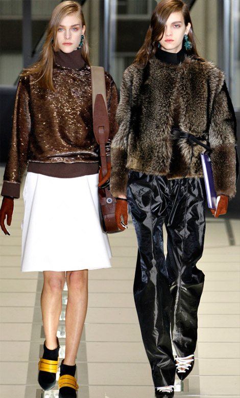 Patching The 80s: Balenciaga Fall Winter 2012 2013 Collection