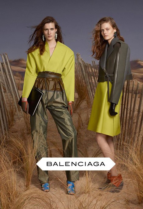 Balenciaga fall winter 2012 2013 ad campaign