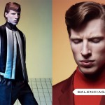 Balenciaga fall winter 2012 2013 first menswear ad campaign