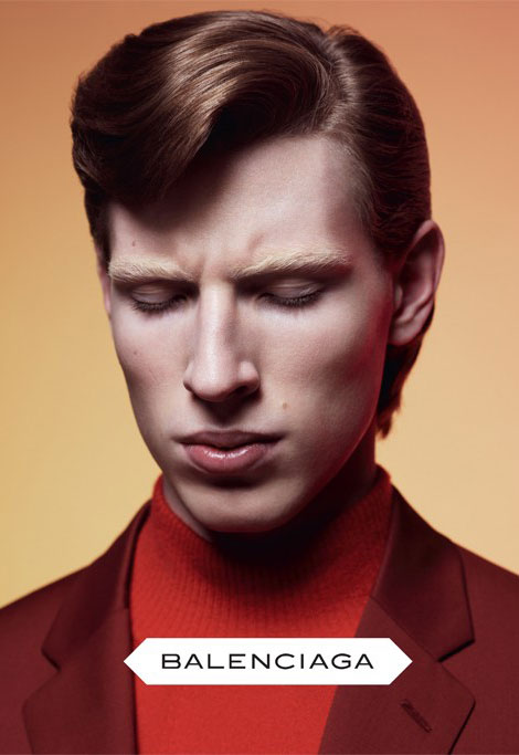 Balenciaga fall winter 2012 2013 menswear ad campaign
