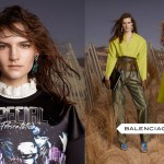 Balenciaga fall winter 2012 2013 womenswear ad campaign