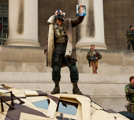 Bane s Shearling coat in Batman Dark Knight Rises