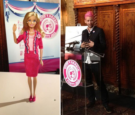 Barbie's Presidential Campaign Outfit By Chris Benz