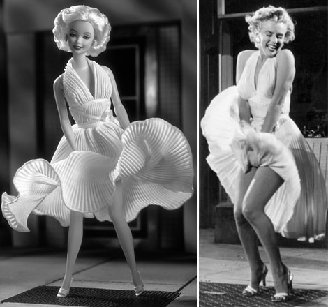 Between Marilyn Monroe And Barbie, Where's The Beauty Ideal?