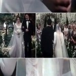 Bella Swan s Wedding Dress back cut lace sleeve bouquet
