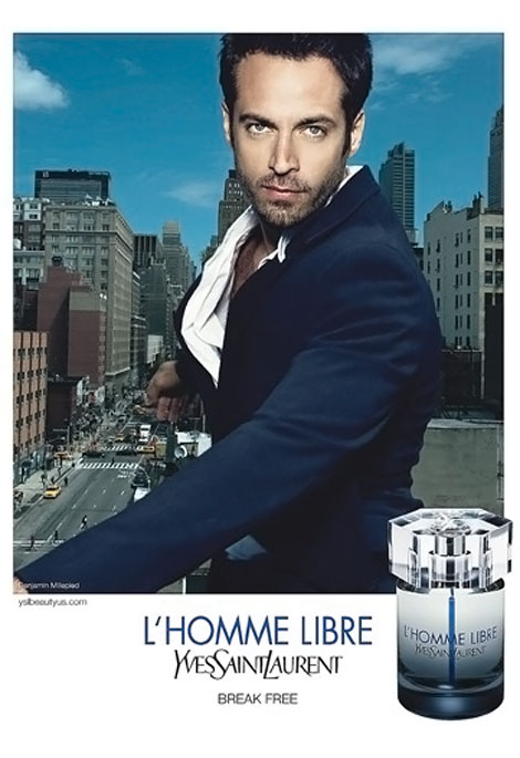 YSL L'Homme Libre Perfume Ad With Benjamin Millepied