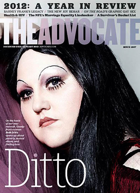 Beth Ditto covers The Advocate