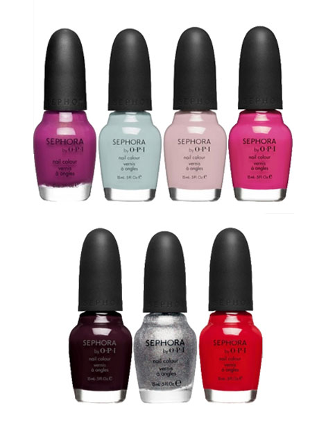 Betsey Johnson's Sephora By OPI Nail Polish Collection