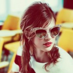 Bette Franke DSquared2 Fall 2012 eyewear campaign