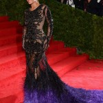 Beyonce Givenchy see through dress Met Ball 2012