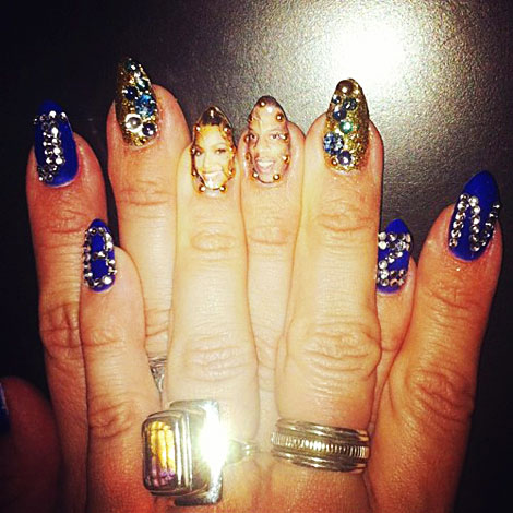 Beyonce's Nails Setting New Manicure Trends
