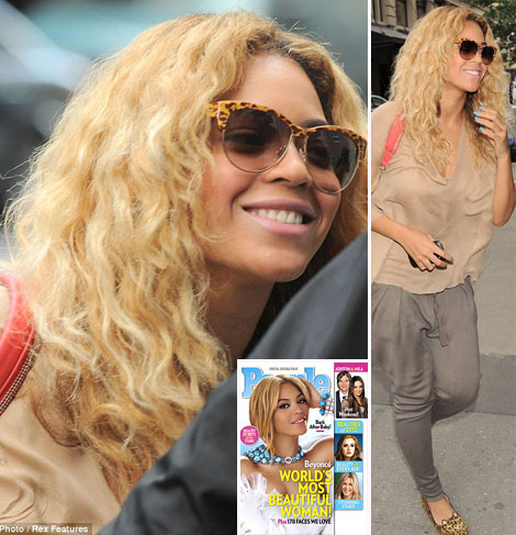 Beyonce s new hair cut
