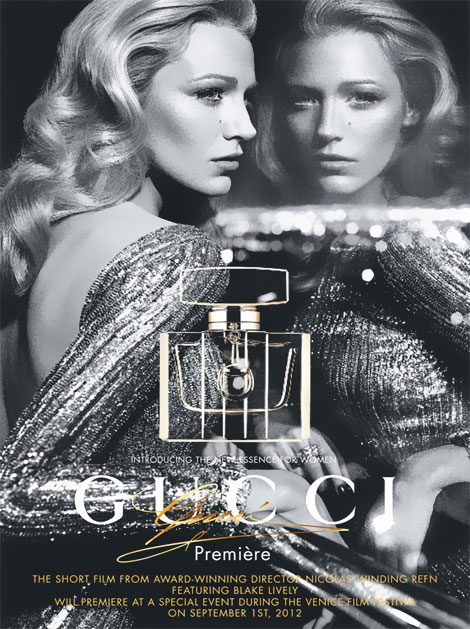 Blake Lively, A True Movie Star In Gucci Premiere Campaign Poster