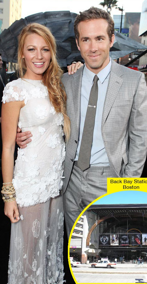 Ryan Reynolds' New Girlfriend? Blake Lively!